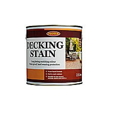 Protek Decking Stain (2.5 and 25 Litres)