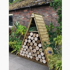 Planters, Composters and Log Stores