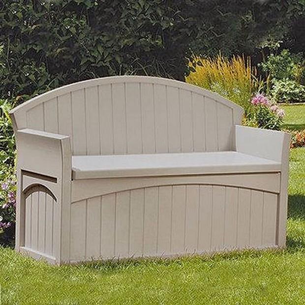 Suncast storage solutions for small gardens elbec garden for Garden storage solutions