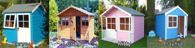 We've Got the Perfect Playhouses for Your Youngsters