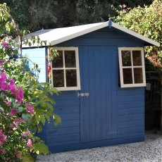 7 x 7 (1.98m x 2.05m) Shire Casita Apex Garden Shed