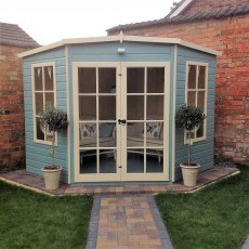 8 x 8 (2.25m x 2.25m) Shire Hampton Corner Summerhouse