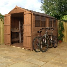 10 x 6 (3.00m x 1.90m) Mercia Shiplap Shed with Double Doors