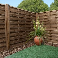 6ft High (1800mm) Mercia Fernwood Pressure Treated Fencing Packs