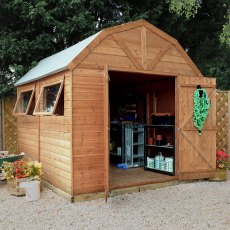 10 x 8 (3.03m x 2.43m) Mercia Dutch Barn Shed