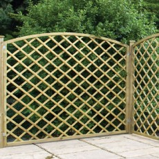 2ft High (600mm) Sutton Pressure Treated Trellis