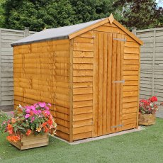 8 x 6 (2.37m x 1.78m) Mercia Overlap Windowless Shed