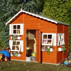 8 x 6 (2.40m x 1.76m) Shire Loft Playhouse