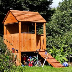 4 x 4 (1.22m x 1.22m) Mercia Lookout Playhouse