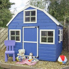 6 x 6 (1.90m x 1.80m) Mercia Dutch Barn Playhouse