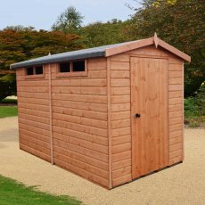 10 x 8 (2.99m x 2.39m) Goodwood Security Professional Shed