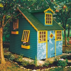 6 x 8 (1.79m x 2.39m) Cottage Playhouse