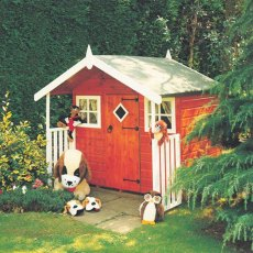6 x 4 (1.79m x 1.19m) Hobby Playhouse