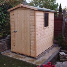 6 x 4 (1.79m x 1.19m) Goodwood Lewis Professional Apex Shed