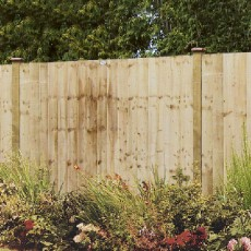 6ft High (1800mm) Grange Professional Feather Edge Fencing Packs - Pressure Treated