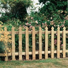 3ft High (900mm) Grange Elite Palisade Pressure Treated Fencing Packs (Planed Timber)