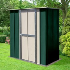 6 x 3 (1.71m x 0.82m) Canberra Utility Metal Shed (Green)