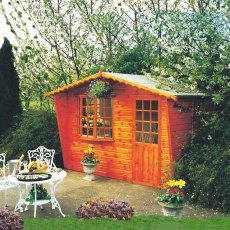 10 x 8 (2.99m x 2.39m) Goodwood Gold Kempton Summerhouse