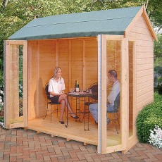 10 x 8 (2.99m x 2.39m) Goodwood Gold Blenheim Summerhouse