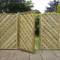 6ft High (1800mm) Mercia Louth Gate - Pressure Treated