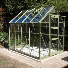 "6'3"" (1.90m) Wide Elite High Eave Colour Greenhouse PACKAGE Range"