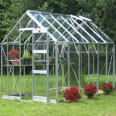 "8'5"" (2.54m) Wide Elite Belmont Aluminium Greenhouse Range"