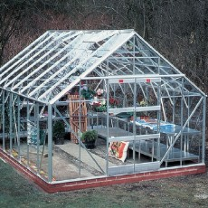"12'5"" (3.80m) Wide Elite Classique Aluminium Greenhouse Range"