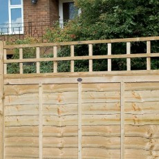 1ft High (300mm) Grange Traditional Square Garden Trellis - Pressure Treated