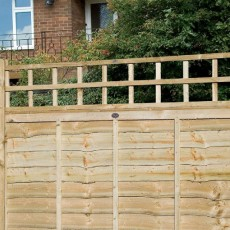 2ft High (610mm) Grange Traditional Square Garden Trellis - Pressure Treated