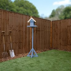 6ft High (1829mm) Mercia Closeboard Vertical Hit and Miss Fencing Packs - Pressure Treated