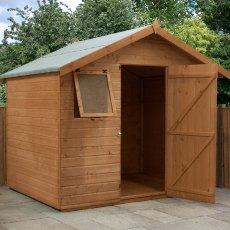 6 x 8 (2.10m x 2.62m) Mercia Premium Shiplap Shed with Single Door
