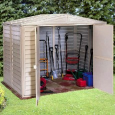 8 x 5 (2390mm x 1600mm) Duramax Duramate Plastic Shed