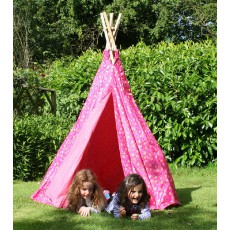 Garden Games Pink Love Heart Play Tent