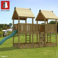 Hy-Land Project 4 Climbing Frame