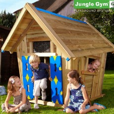 Jungle Gym Crazy Playhouse with Optional Tower