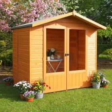 7 x 5 (2.05m x 1.55m) Shire Avance Summerhouse