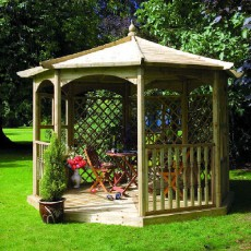 Grange Regis Gazebo with Side Panels (Dressed A)