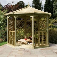 Grange Regis Gazebo with Side Panels (Dressed C)