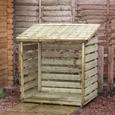 3 x 3 (1.05 x 0.82m) Mercia Small Log Store