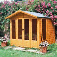 7 x 7 (2.05m x 1.98m) Shire Parham Summerhouse
