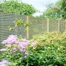 6ft High (1800mm) Grange Contemporary Pressure Treated Fencing Packs