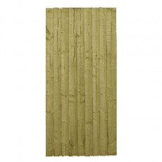 5ft High (1508mm) Mercia Vertical Feather Edge Gate - Pressure Treated