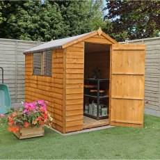 7 x 5 213m x 160m mercia overlap shed - Garden Sheds 7x5