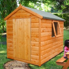 3 x 4 (0.99m x 1.19m) Shire Lad's Shed