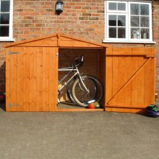 3 x 7 (0.95 x 2.05m) Shire Shiplap Bike Storage