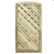 6ft High (1800mm) Grange Elite St Lunairs Gate - Pressure Treated