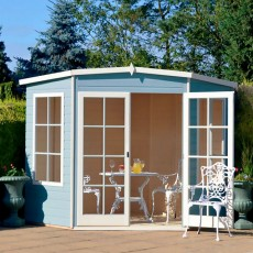 10 x 10 (2.99m x 2.99m) Shire Hampton Corner Summerhouse