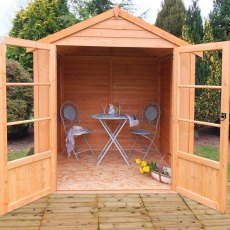 6 x 6 (1.83m x 1.76m) Shire Oatland Summerhouse