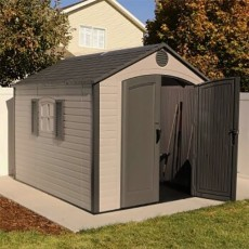 8 x 10 (2.39m x 3.00m) Special Edition Lifetime Plastic Shed