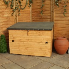 3 x 4 (0.99m x 1.19m) Mercia Shiplap+ Storage Chest